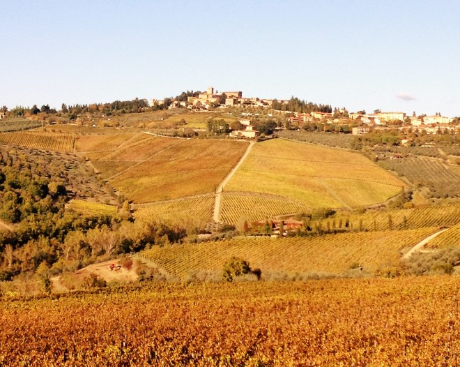 fall in chianti