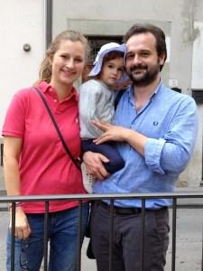 Anna, Francesca, and Livio