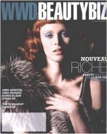 I love to cut out snippets from WWD in the morning with my coffee