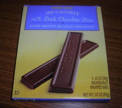 100 Calorie Trader Joes Chocolate Bars