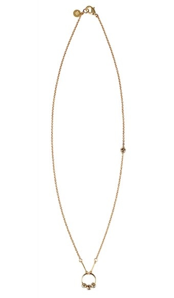 Chelsea Charles Necklace. Arianne Infinity Circle