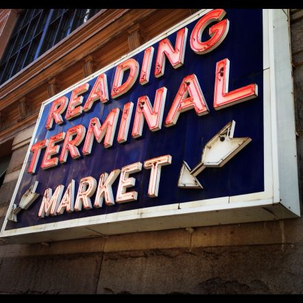 Reading Terminal is a must for lunch