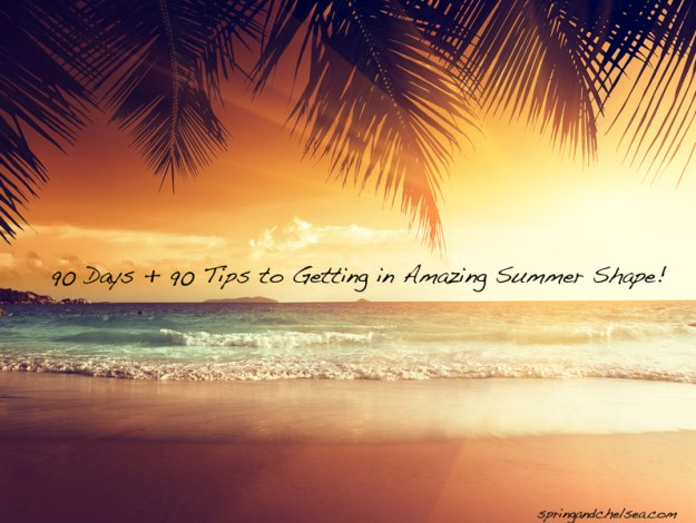 Join us for three months worth of healthy tips to get beach ready!