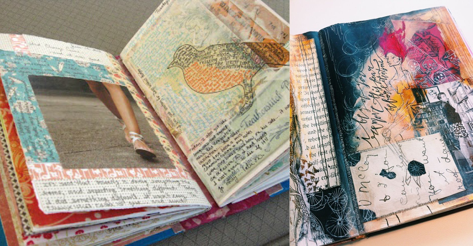 The Altered Book A Creative Way To Upcycle Books