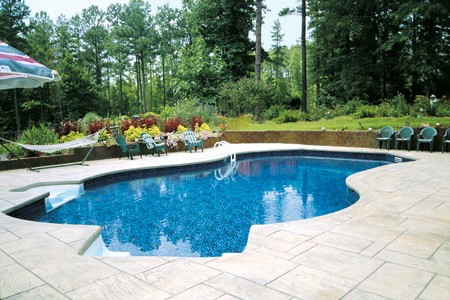 Stamped Concrete Installer Spring39s Pools And Spas