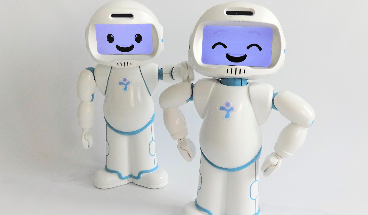 Children Robot Social Robot Helps Reduce Anxiety For Children With Autism
