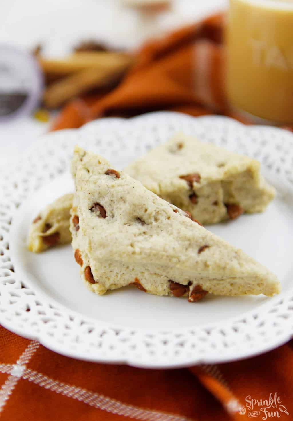 These sweet cinnamon scones are sweet and spicy just like the rich ...