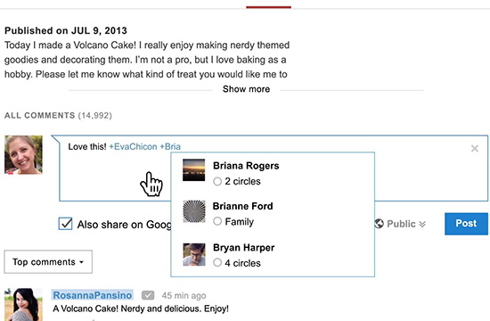 Google+ is Integrated with Other Google Services