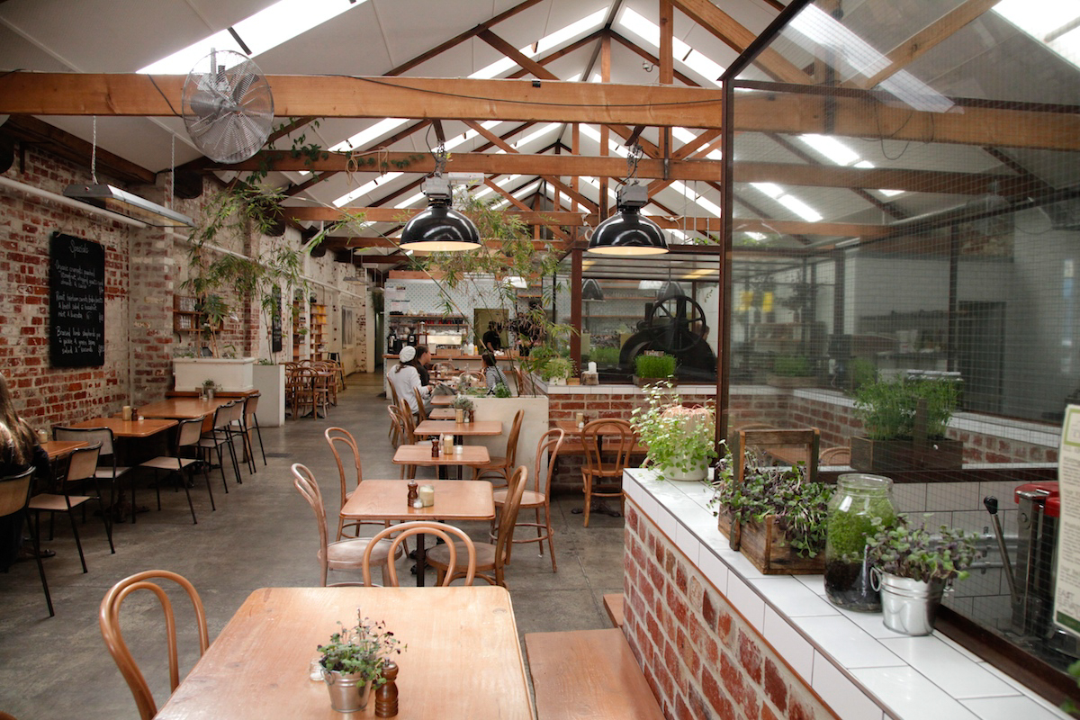 Coffee Garden Jobs Breakfast Amidst A Garden At East Elevation Melbourne