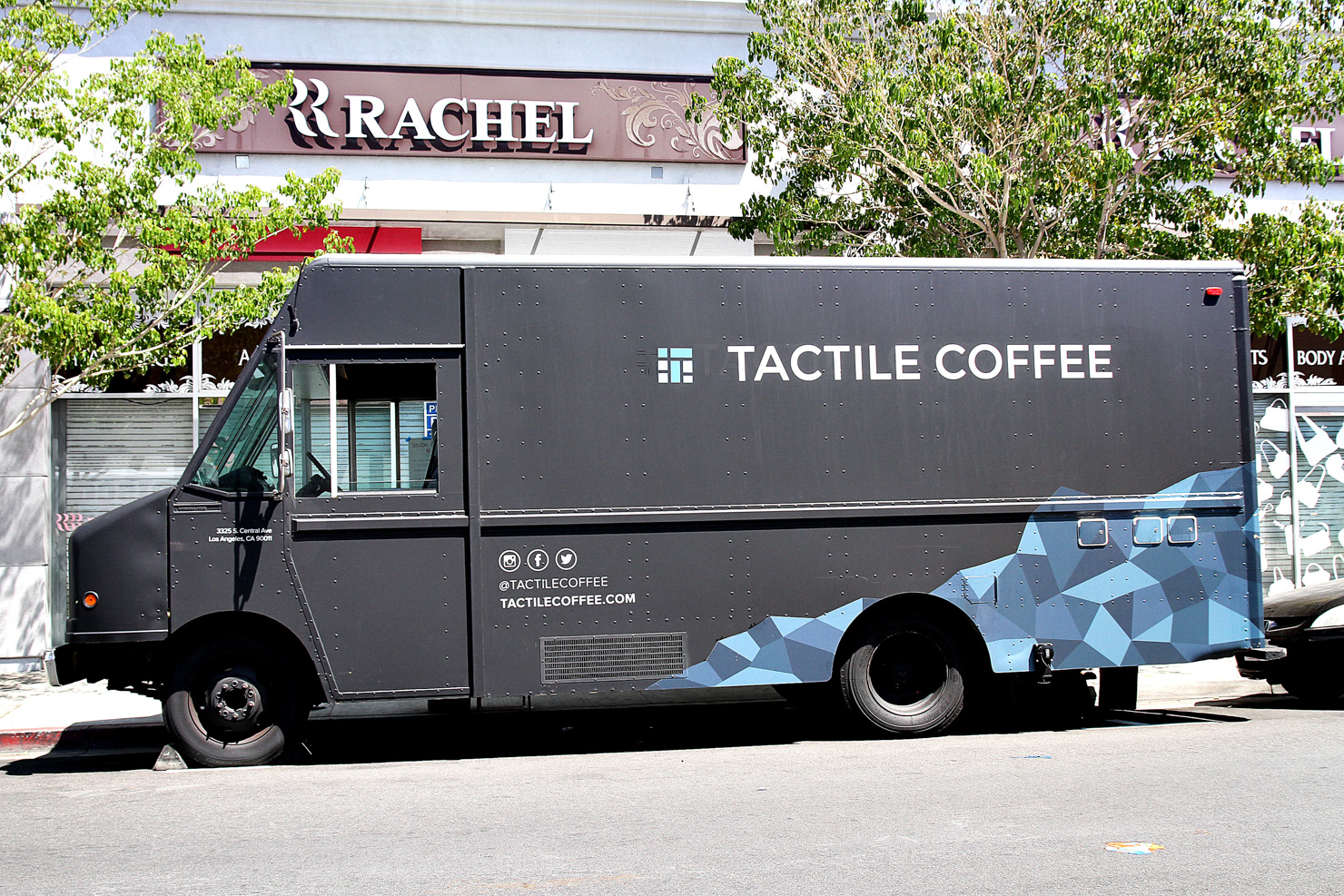 Alchemy Coffee Food Truck In Los Angeles Tactile Coffee Is A Truck Above