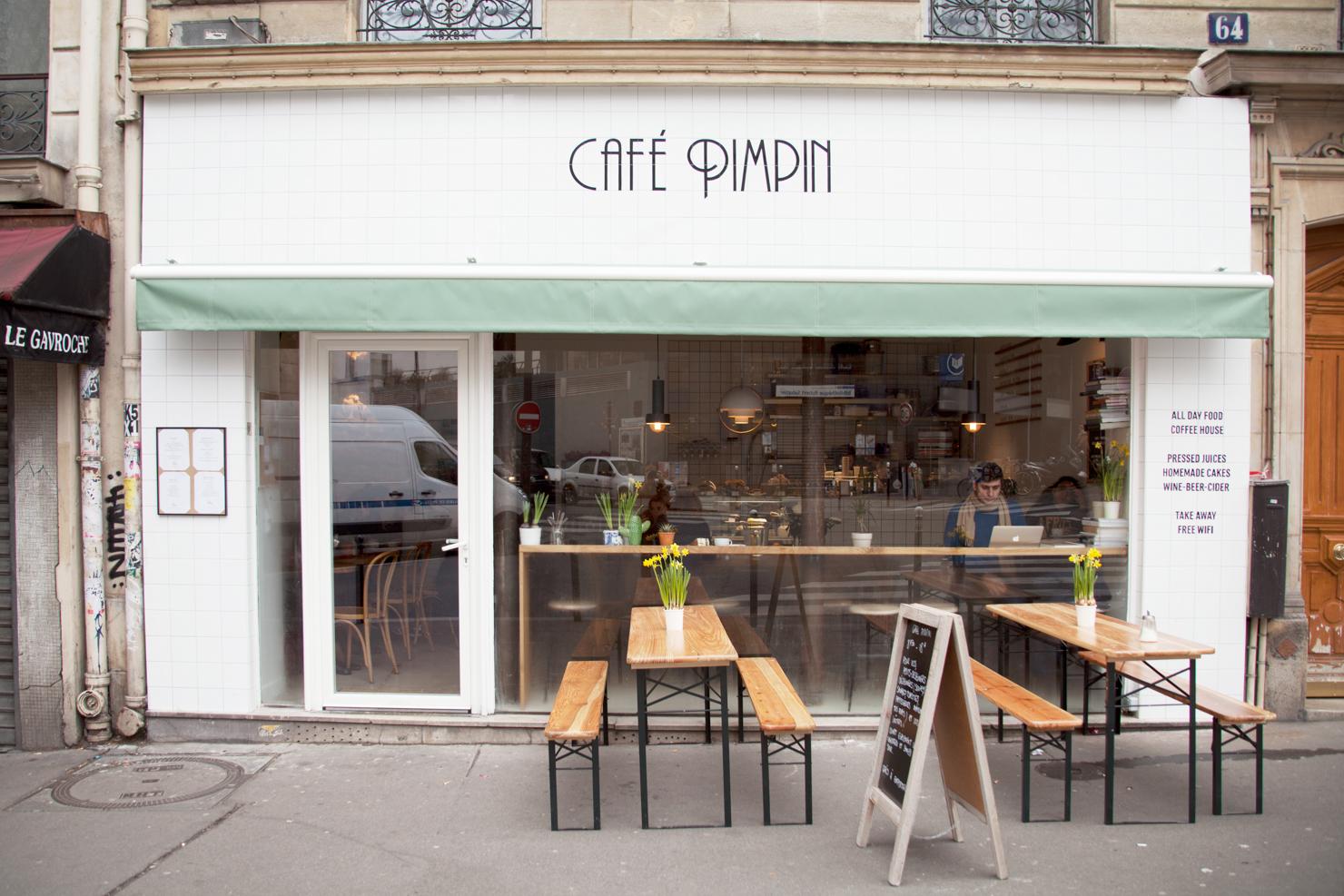 Paris Wallpaper Cute Blue Paris Caf 233 Pimpin Is A Neighborhood Spot Serving Good
