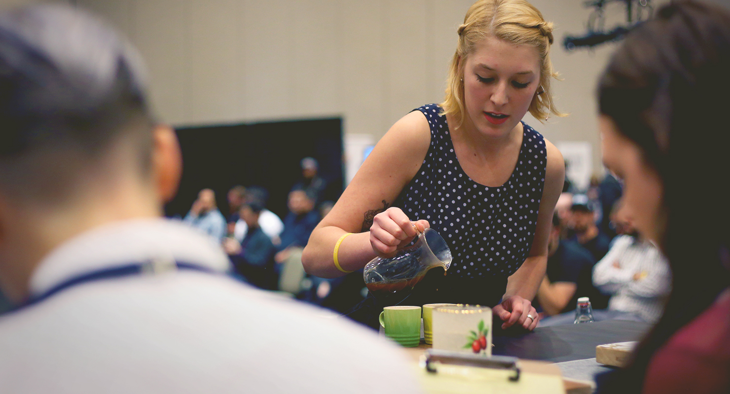 Red Rooster Coffee Garden Valley Us Barista Championship Knoxville Qualifying Event Day