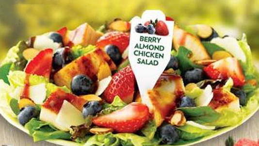 wendys_berry_almond_chicken_salad