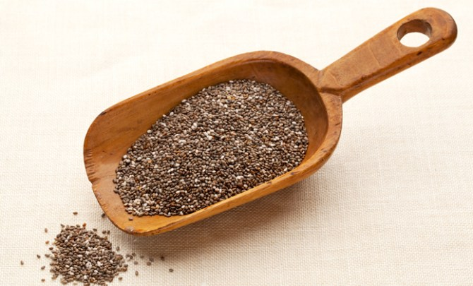 Nutritional benefits of chia seeds.