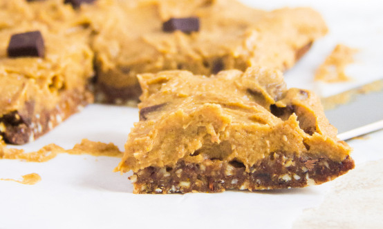 No-bake-Pumpkin-Cookie-Dough-Bars