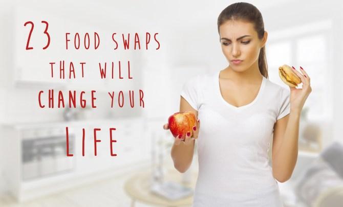 23 food swaps