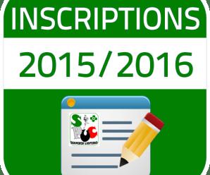 RÉUNION D'INFORMATION 2015-2016
