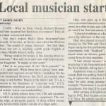 Local musician copy