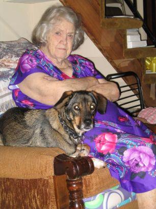 Grandma Baxley & Tippy