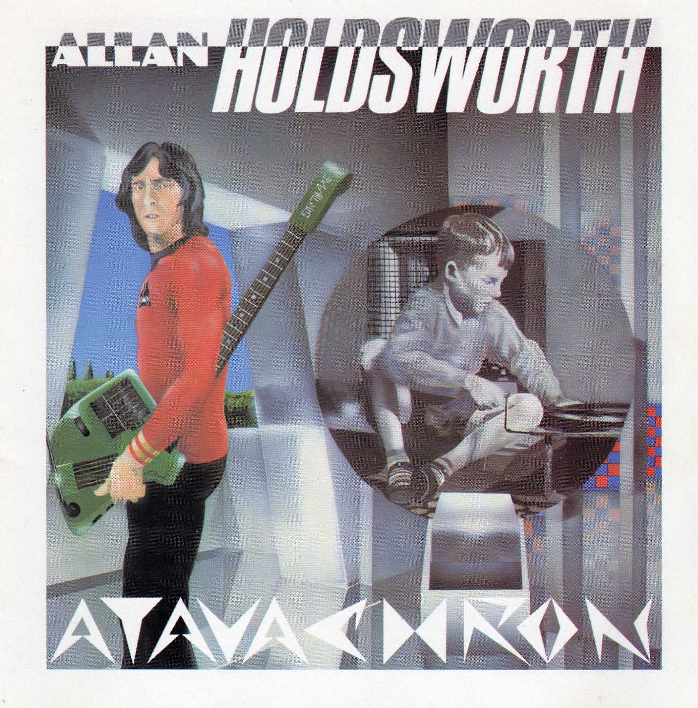 Allan Holdsworth Allan Holdsworth Atavachron Album Review Sputnikmusic