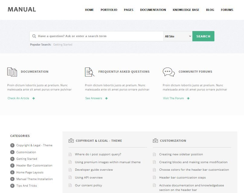 10 User-Friendly FAQ Page Templates  Support Themes