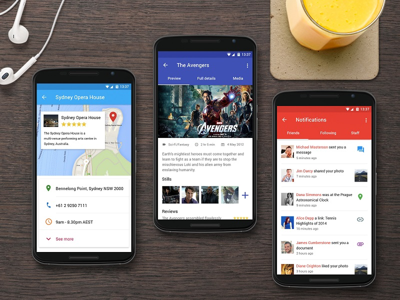44 Mobile Android App Interfaces for Design Inspiration