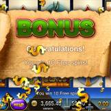 Slots - Pharoah's Way Free Spin 1
