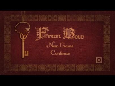 Fran Bow - Title Menu
