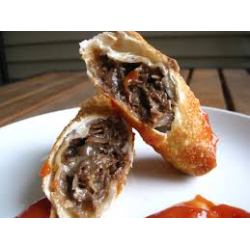 Small Crop Of Philly Cheesesteak Egg Rolls