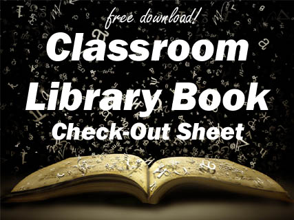Classroom Library Book Check-Out Squarehead Teachers - checkout a book