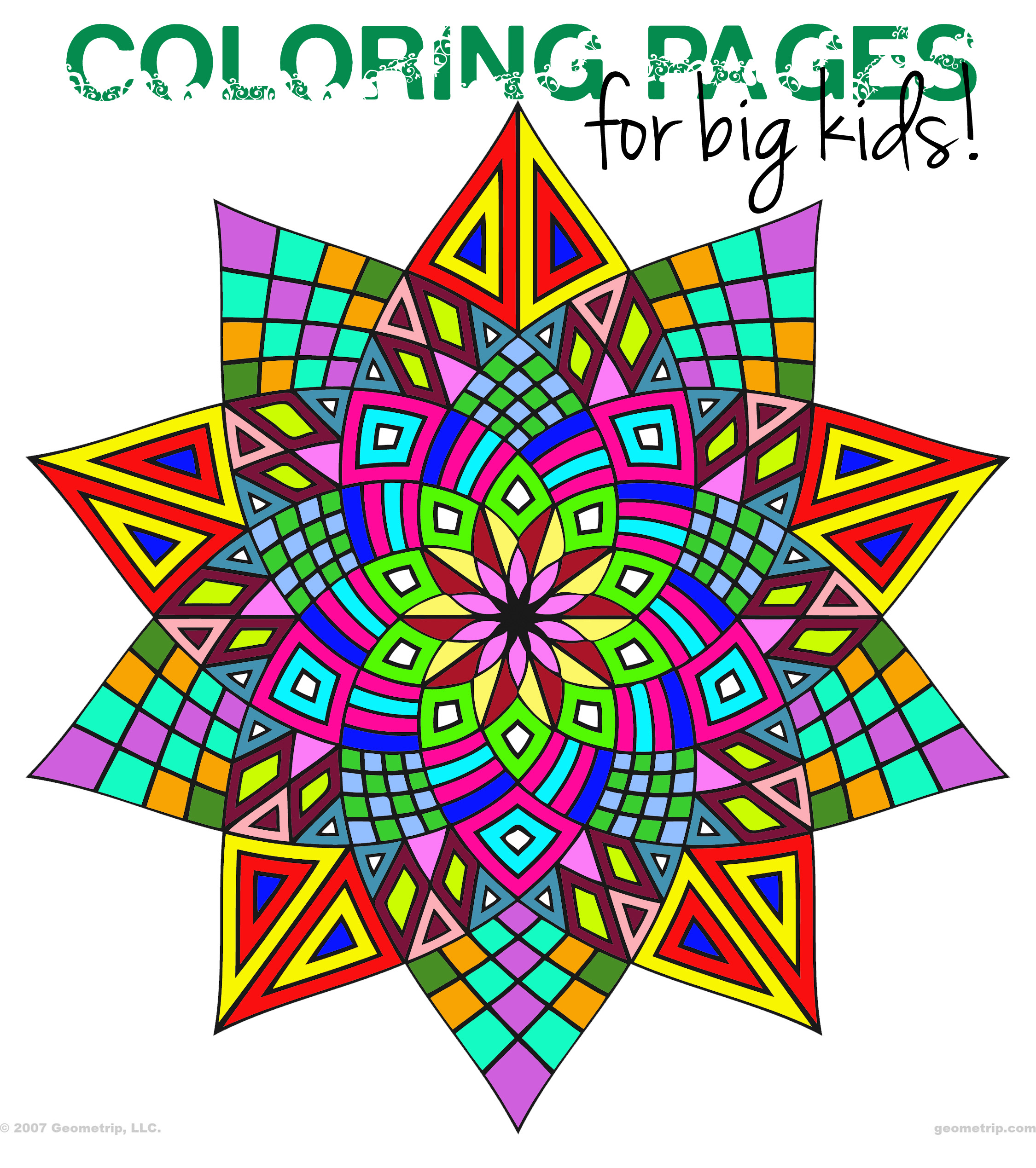 Coloring pages geometric - Coloring Pages Geometric Coloring Pages Geometric 40