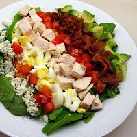 Cobb Salad Pita Pockets