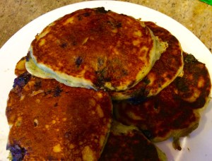 Really Good Blueberry Pancakes