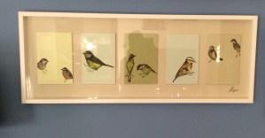 DIY Bird Art from Maps