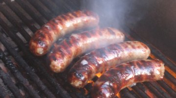 Savory Beef Meatball Sliders or Burgers that Taste Like Really Good Brats or Pork Sausage