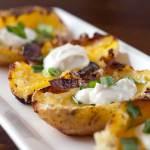 Potato Skin Appetizers Photo: LifesAmbrosia