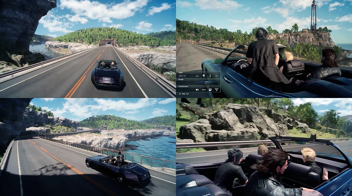 Final Fantasy 15 Wallpaper Pushing The Car Designing The Car In Final Fantasy Xv Lore Amp Driving