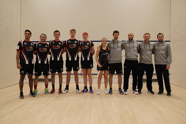 Squash Mad Birmingham take the Honours in a University Double First