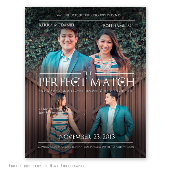 Movie Poster Save The Date Template - save the date template