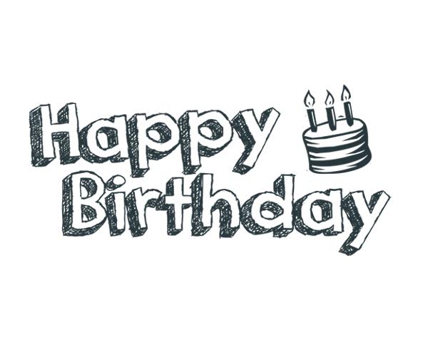 Happy Birthday 2 Word Art