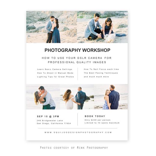 Joy Photography Workshop Flyer Template