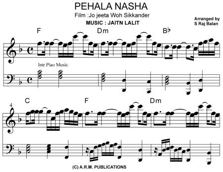 Piano Chart Music Books