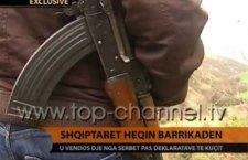 Наоружани шиптарски цивили у присуству припадника пољског КФОР-а уклањају блокаду (видео)