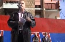 Протест у КМ поводом хапшења Срба 31.10.2012. (видео)
