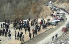 Срби блокирају постављање границе према КиМ (видео)