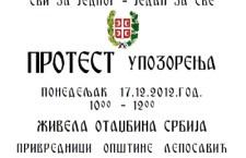 Срби најављују сутра блокаду од 10-12 па за два дана радикализација блокада