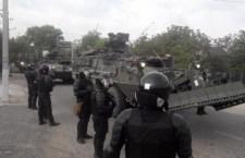 У Молдавији блокирана колона америчке војне технике