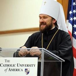 Епископ Иларион на предавању у Америци