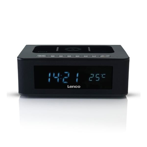 Lenco Radiowecker Cr 580 Bluetooth Kabelloses Handy - Kabelloses Laden Handy