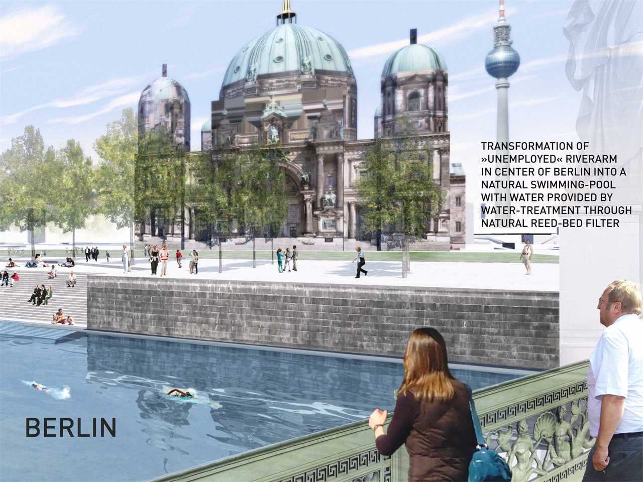 Swimming Pools In Berlin Urban Renewal And Swimming Pool Precinct Berlin Germany